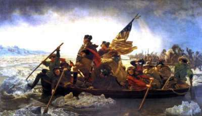 Washington cruzando el Delaware